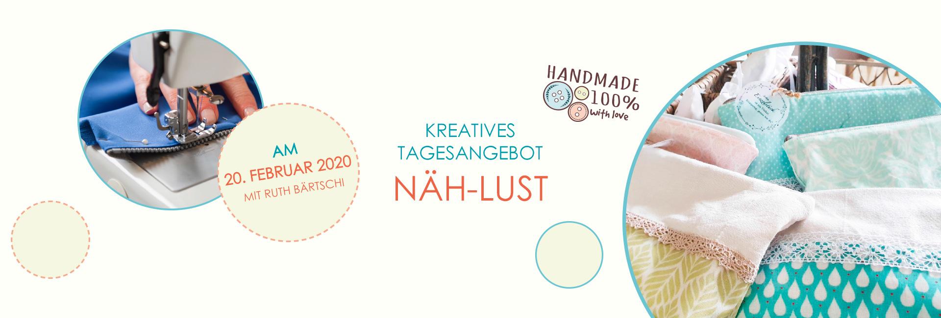 SFH naeh-lust kreativtage 2020